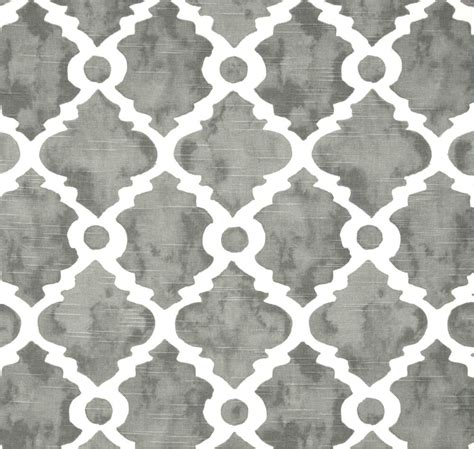 grey drapery fabric gray lattice fabric geometric home decor fabric by the yard