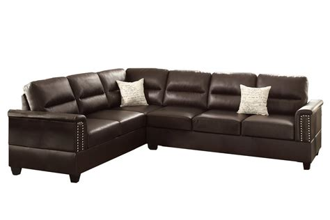 what does bonded leather mean on a sofa poundex f7859 bobkona parrish bonded leather left decor