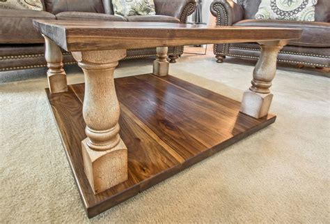 walnut coffee table legs coffee tables end tables ks woodcraft