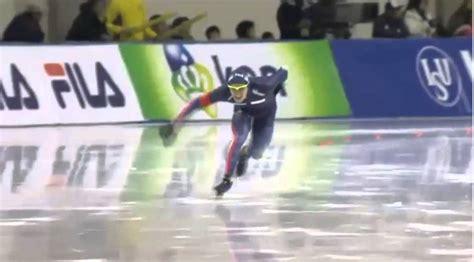 wardrobe malfunction in speed skating at isu world cup wardrobe malfunction in speed skating at isu world cup