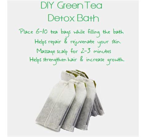 How To Make Your Own Detox Bath by How To Make Your Own Diy Green Tea Detox Bath Trusper