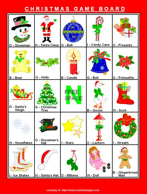 printable christmas bingo cards 9 best images of printable christmas bingo boards free