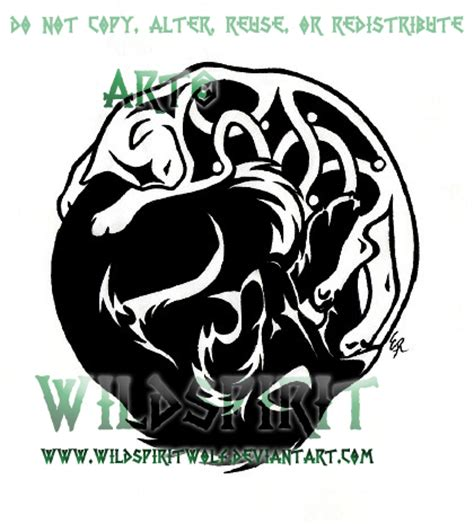 celtic cat tattoo designs tribal wolf celtic cat by wildspiritwolf on deviantart