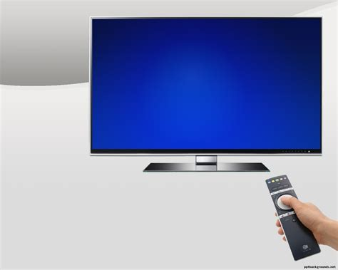 free smart tv backgrounds for powerpoint technology ppt