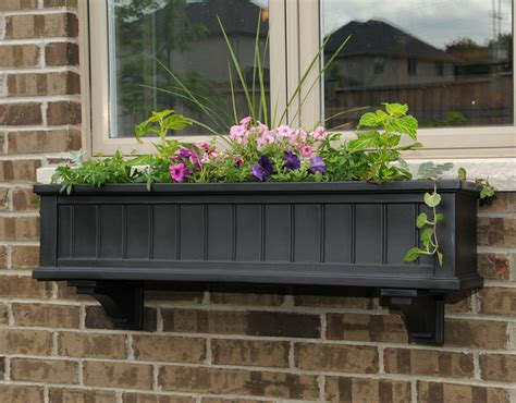 wooden window box planters black wooden window boxes interior design ideas