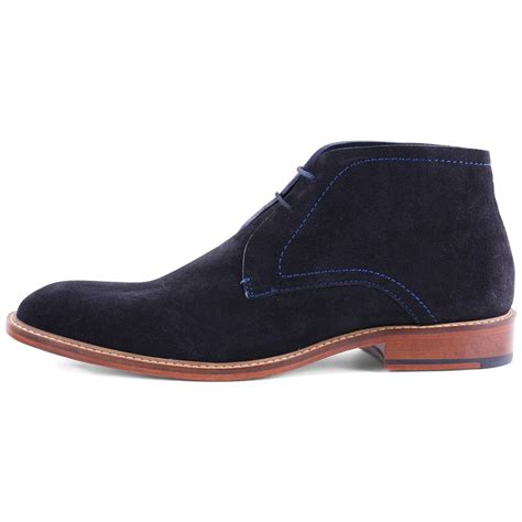Sepatu Original Icon Boots Wings Suede ted baker torsdi 3 mens suede ankle boots in blue
