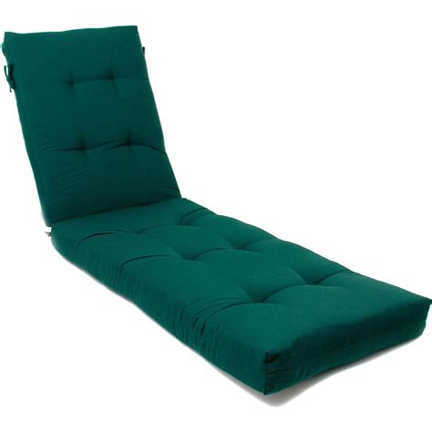 sunbrella chaise lounge replacement cushions sunbrella canvas forest green extra long outdoor
