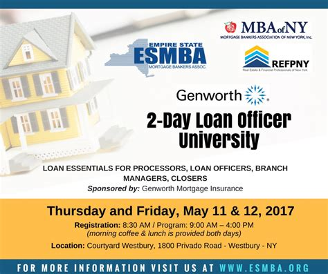 Mba Certified Residential Underwriter by Mba Of Ny Presents Loan Officer