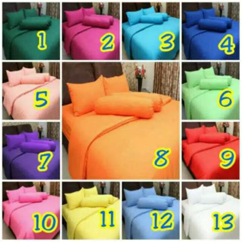 Sprei Polos Rosewell 180x200 sprei polos king rosewell 180x200 160x200 cm shopee