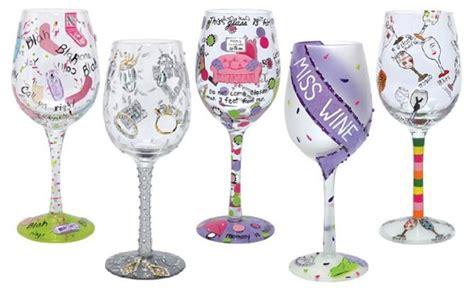 Decorative Wine Glasses by Gift Ideas For Fabulousarizona