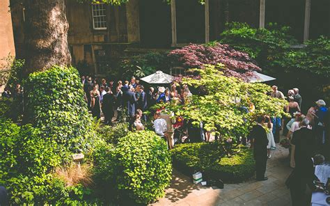 wedding reception in garden uk wedding venues in stationers and garden