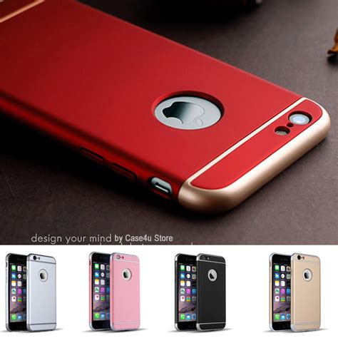Iphone 7 Hardcase Oem Logo Apple luxury metallic electroplating chrome