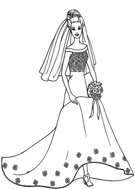 barbie dress coloring page 39 collection of barbie free coloring pages gianfreda net
