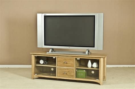 Tv Unit Glass Doors Turpelo Oak Large Tv Unit