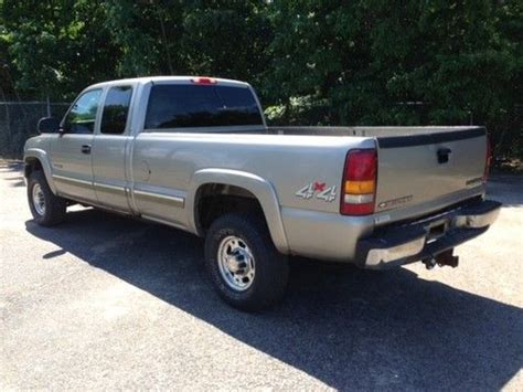 how to work on cars 2001 chevrolet silverado 3500 electronic valve timing buy used 2001 chevrolet silverado 2500hd 4x4 6 0l plow package ready to work no reserve in