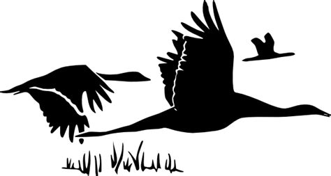flying geese clip art at clker com vector clip art