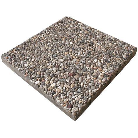 Waschbetonplatten Gewicht 50x50 waschbetonplatte buntkies 40 cm x 40 cm x 4 cm kaufen bei obi