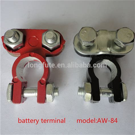 what color is positive on a battery 2 color coded post battery terminals positive black