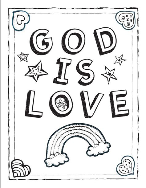 sunday school coloring pages on love god is love coloring sheet bible coloring pages