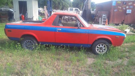 subaru brat turbo for sale 1978 subaru brat 85 turbo manual for sale in bluff