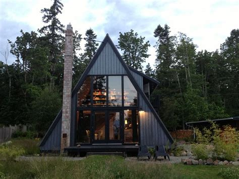 modern a frame homes 30 amazing tiny a frame houses that you ll actually want