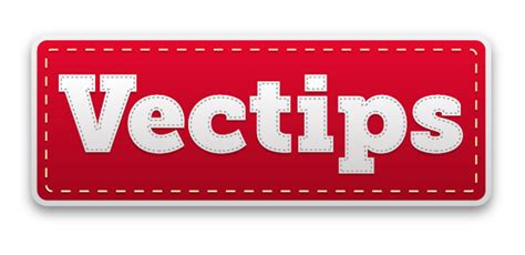 label design photoshop tutorial create an editable stitched label type treatment vectips