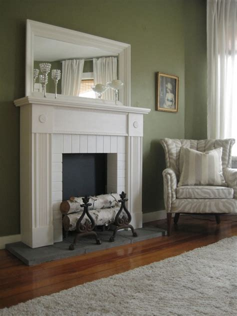 Faux Fireplace Mantels by Faux Fireplace And Mantel In White Via Etsy Sublime