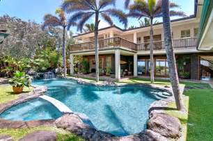 Hawaii beach houses the palm beach house 6
