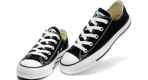 Best Product Sepatu Converse All Low Classic Black discount converse shoes black chuck all