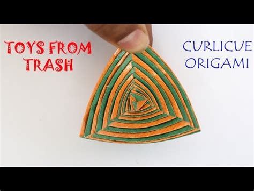 Curlicue Origami - curlicue origami kannada