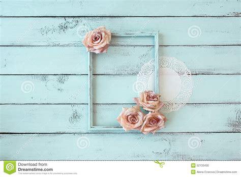 shabby chic photo frame stock photo image of roses chic