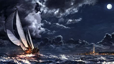 ship full hd wallpaper  background image