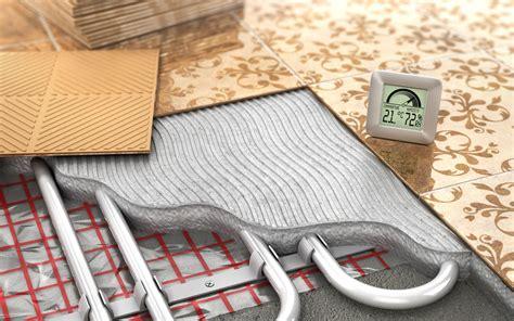 impianto radiante a pavimento costi costi riscaldamento a pavimento