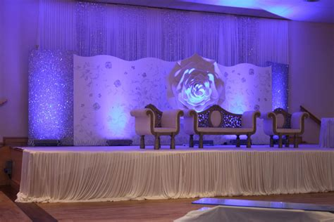 White Wedding Stage Decoration by Mislay S As Far As I Am Concerned Choosing A