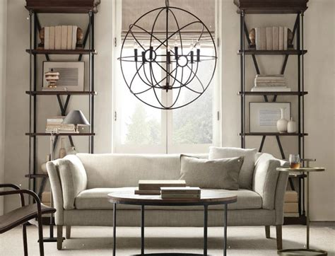 Restoration Hardware Living Room Ideas - restoration hardware small spaces inspiration ideas