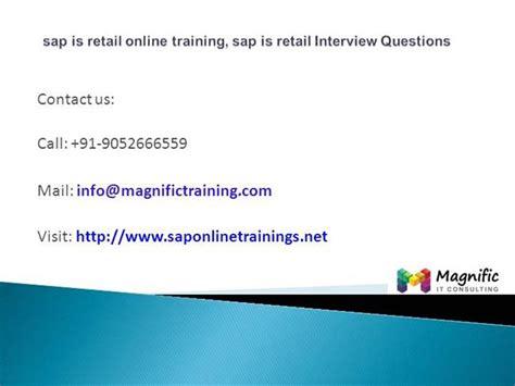sap retail tutorial pdf sap is retail online training sap is retail interview