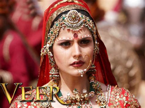 film india wedding zarine khan in veer movie images latest hd wallpapers