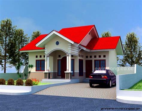 gambar desain dapur rumah minimalis modern kumpulan model rumah sederhana gallery taman minimalis