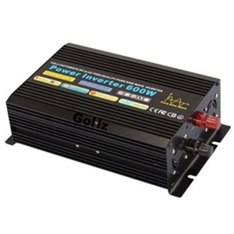 Inverter 600 Watt 600 watt sine wave inverter for home use gohz