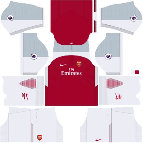arsenal kit dls 2017 uniformes kits para dls y fts 15 uniforme de arsenal 2017