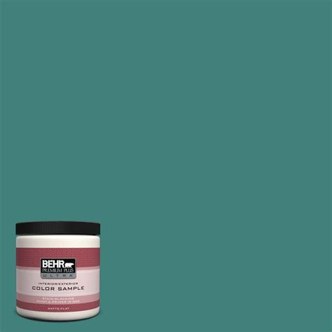 turquoise paint colors home depot behr premium plus ultra 8 oz 460a 1 interior