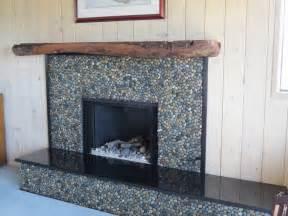 glazed bali fireplace pebble tile shop