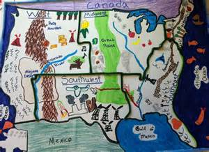 five regions of the united states student project