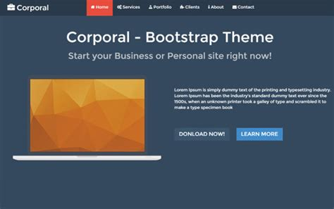 bootstrap feed template 30 free bootstrap html5 responsive templates developer s