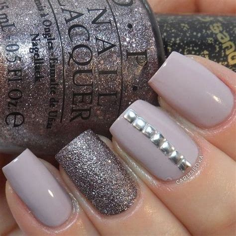 beautiful glitter nail art design for elegant nail glitter strass nail art nails pinterest stripes