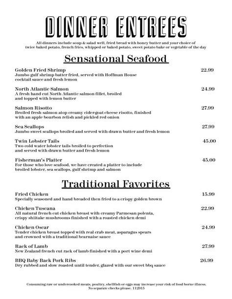 hoffman house rockford il sensational seafood favorites