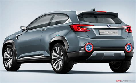 subaru viziv  concept hints  future production suv