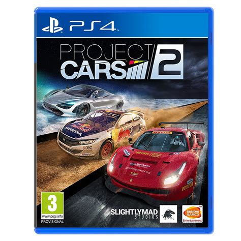 ps4 themes project cars project cars 2 ps4 jeux ps4 bandai namco games sur