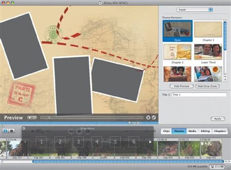 new themes imovie adding imovie themes imovie hd 6 and idvd 6 for mac os x
