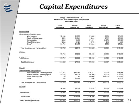 capital expenditure template health care capital expenditure budget images
